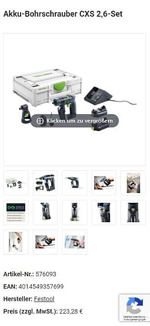 Elektrowerkzeug-Shop 3