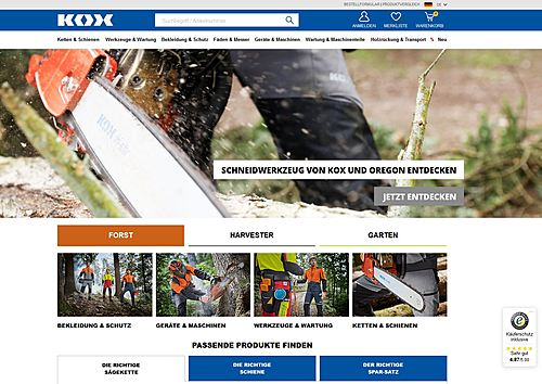 Blount GmbH, KOX