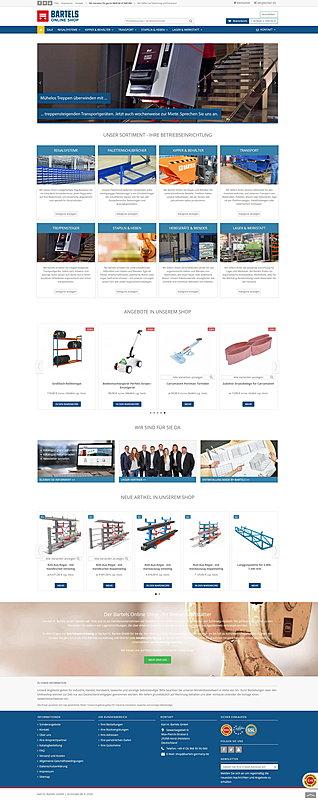 Karl H. Bartels GmbH - Online Shop 1