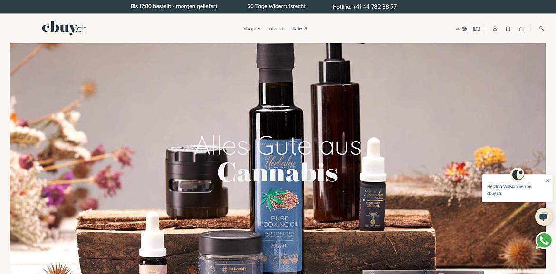 cbuy.ch - Alles Gute aus Cannabis 1