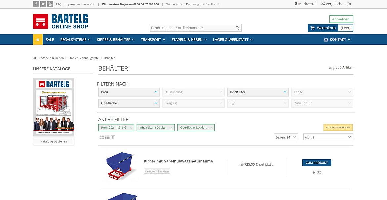 Karl H. Bartels GmbH - Online Shop 2
