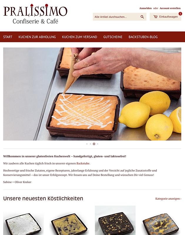 glutenfreierkuchen.de –Pralissimo Confiserie, Café, Backstube und Manufaktur 3