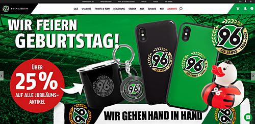 Hannover 96-Onlineshop