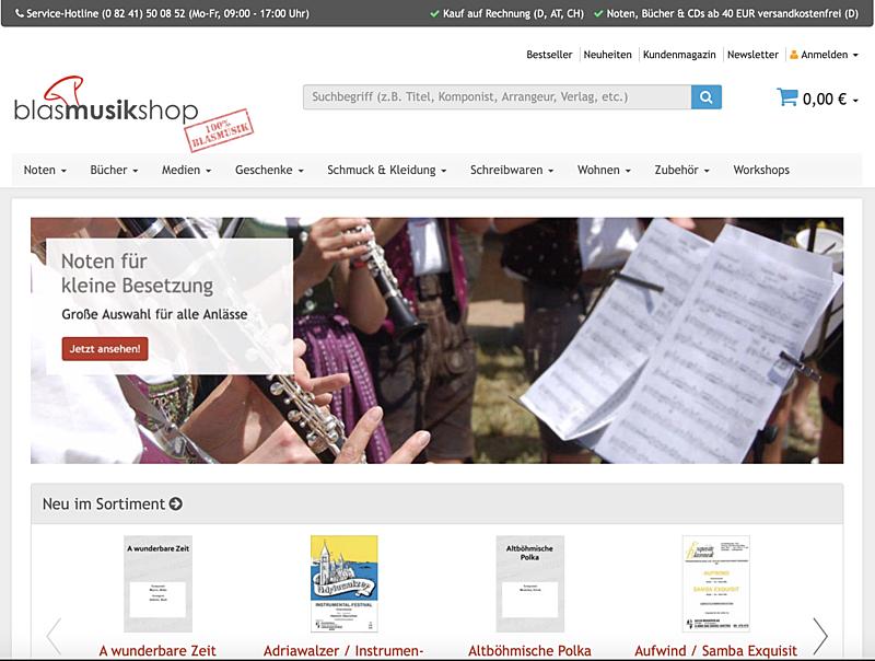 Blasmusik-Shop 1