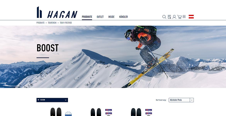 Tourenski Hersteller Hagan Ski 1