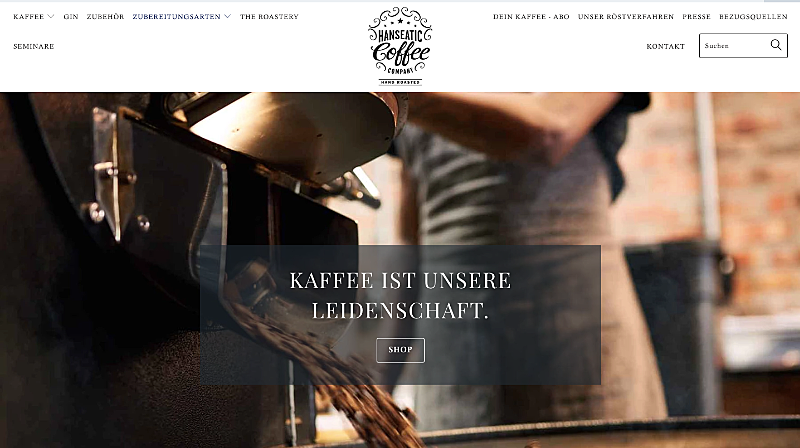Hanseatic Coffee Company 1