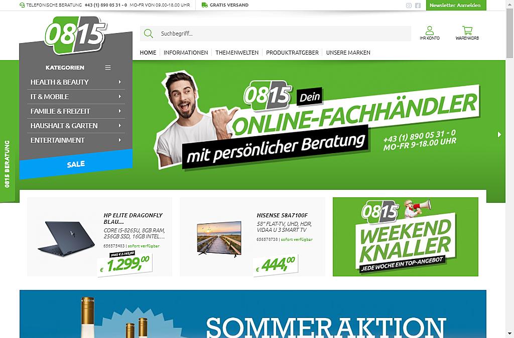 0815 Online Handel 4