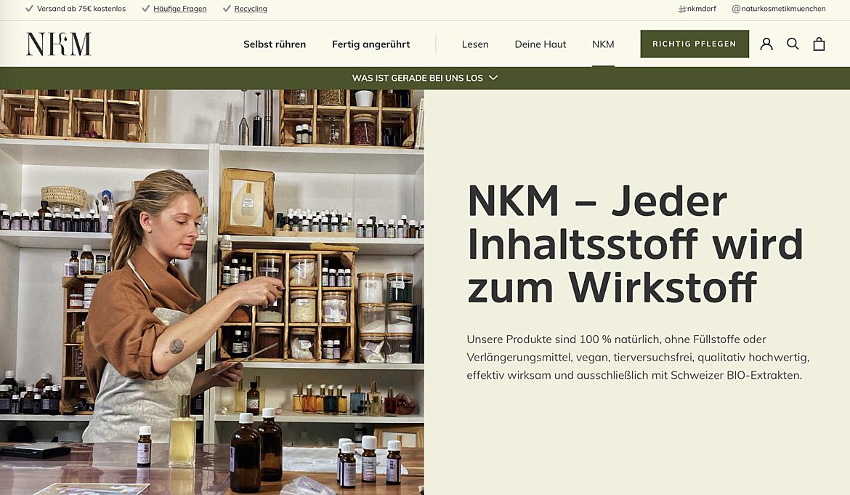 NKM Naturkosmetik München 4