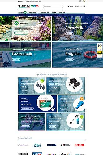 Teichpoint - Gartenteich, Aquaristik und Ratgeber