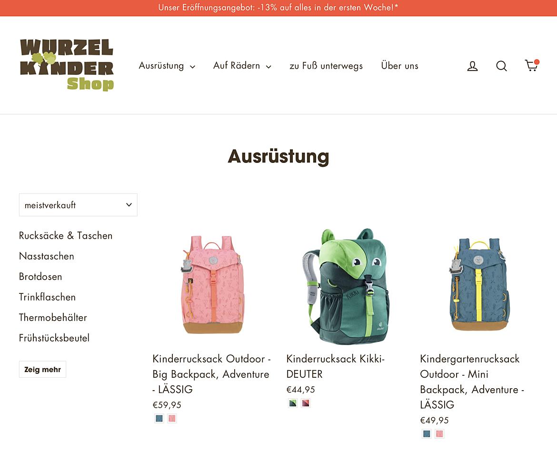 WURZELKINDER Shop 6