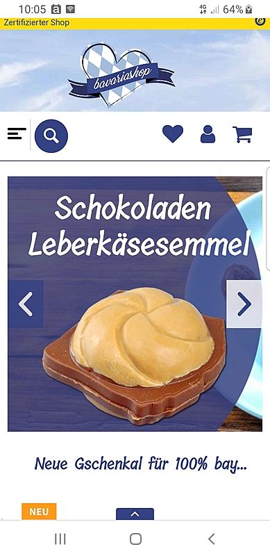 Bavariashop - der Shop für bayerisches LebensGfui 1
