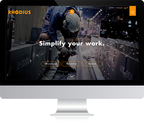 RHODIUS Abrasives - Simplify your work.