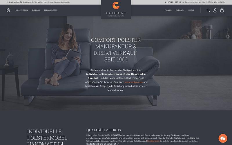Comfort Polstermöbel Manufaktur 1