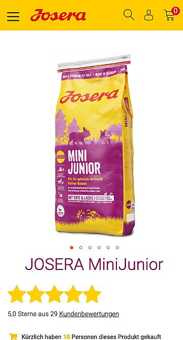 Josera / foodforplanet 7