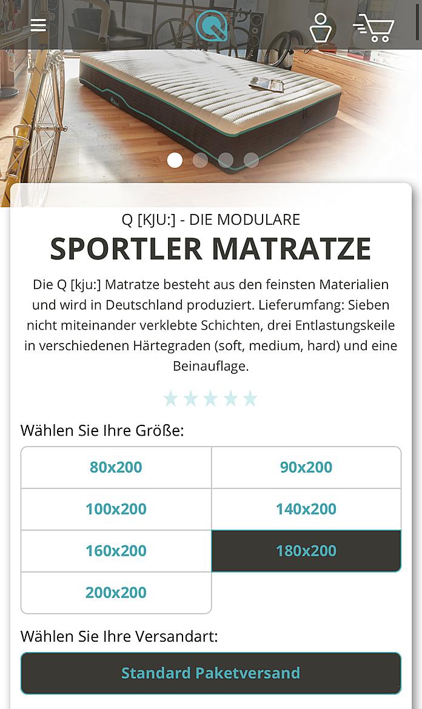 Q-Matratze 2