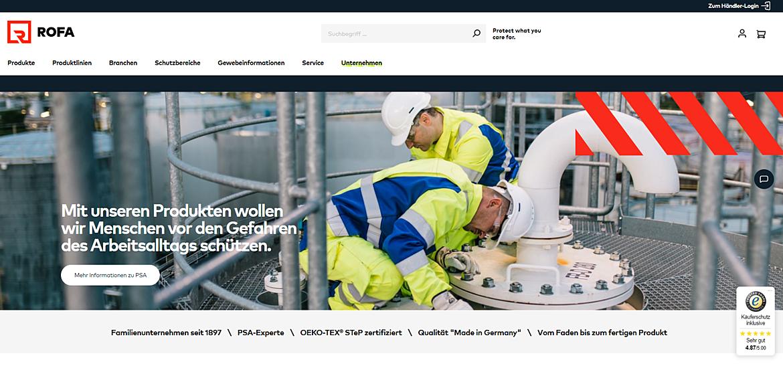 ROFA | Rofa Bekleidungswerk GmbH & Co. KG 1