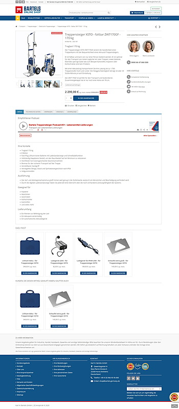 Karl H. Bartels GmbH - Online Shop 4