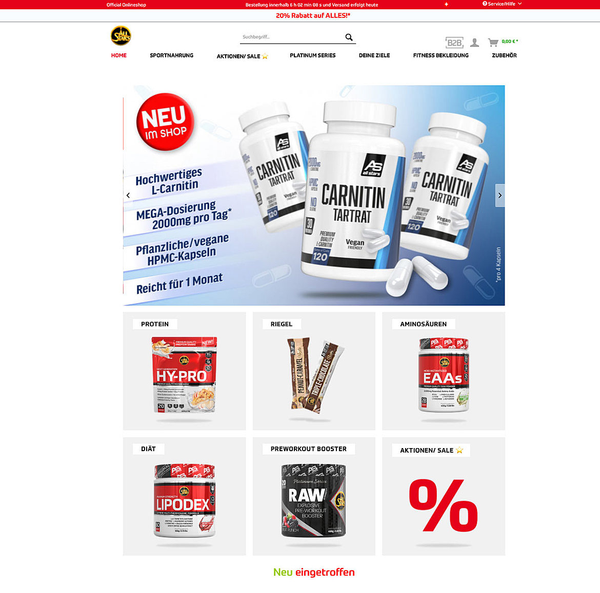 ALL STARS Fitness Products GmbH 1