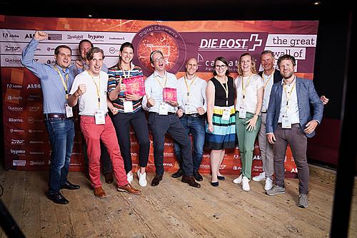 Gratulation an die Sieger des Digital Commerce Award in der Schweiz
