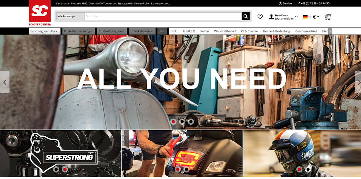 SCOOTER CENTER GmbH  1