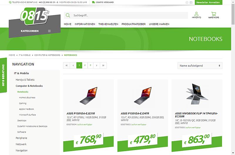 0815 Online Handel GmbH 8