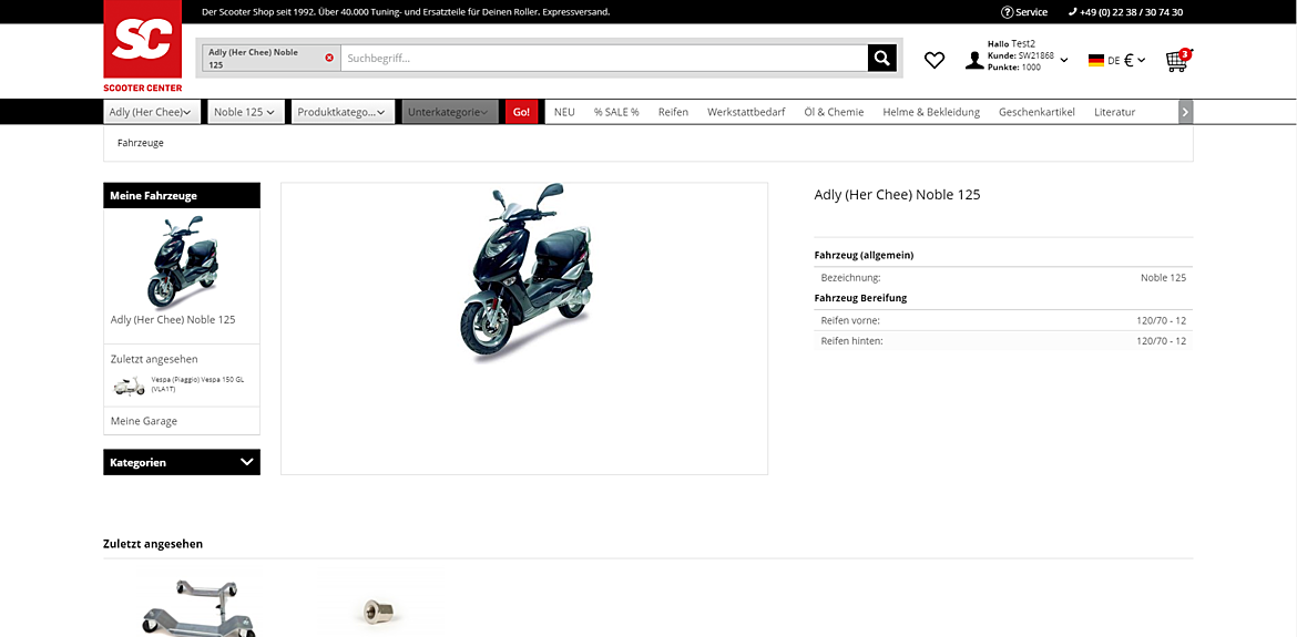 SCOOTER CENTER GmbH  2