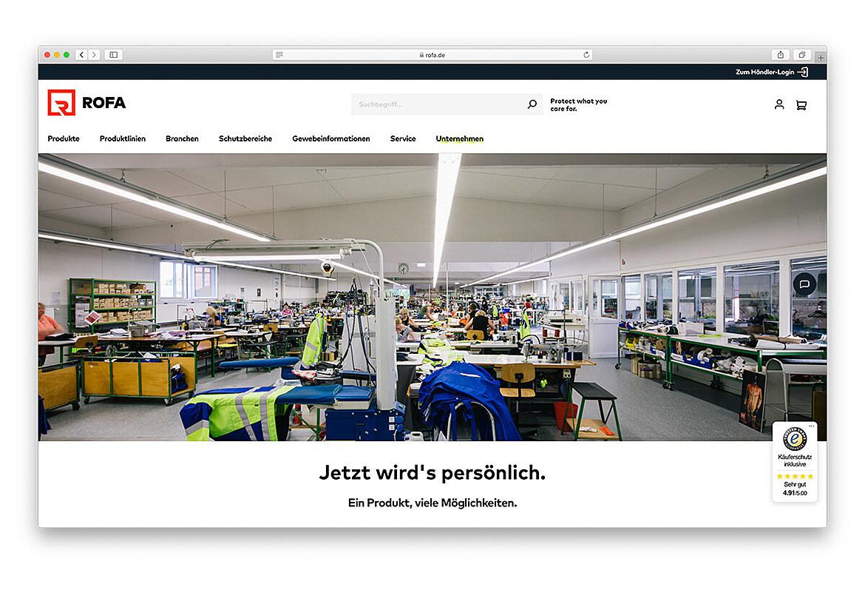 ROFA | Rofa Bekleidungswerk GmbH & Co. KG 5