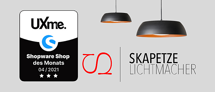 skapetze.com ist bester Shopware Shop im April