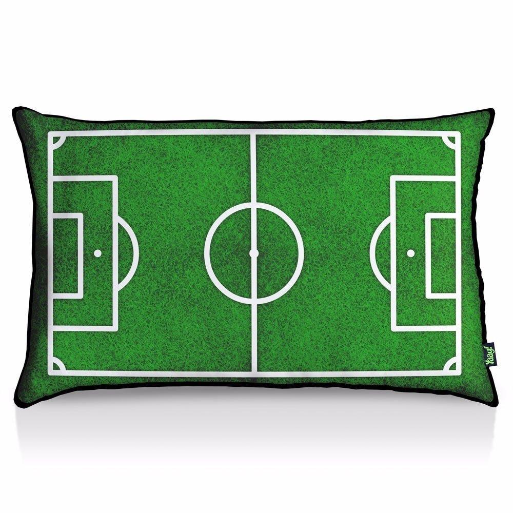 Almofada Campo de Futebol - 35 x 55 cm
