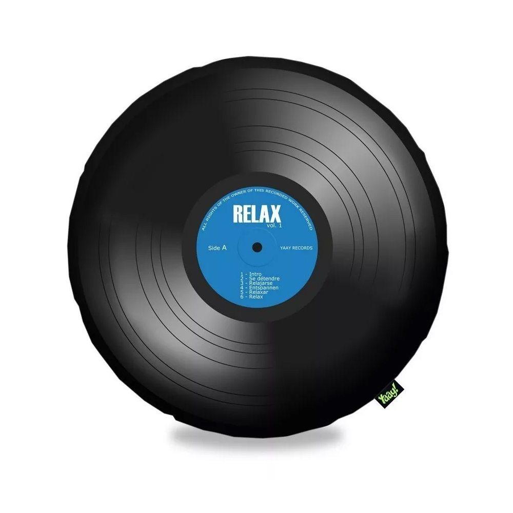 Almofada Disco de Vinil LP Bolachão - 40 x 40 cm