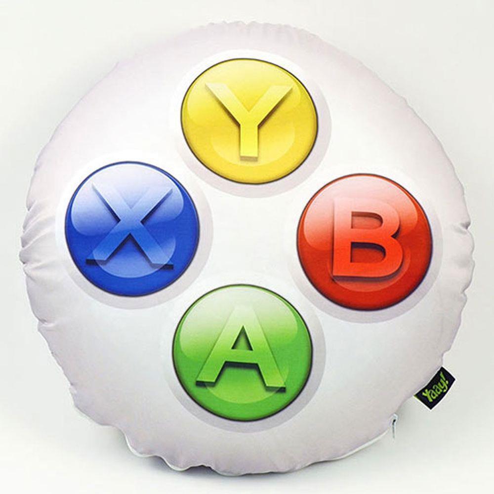 Almofada Gamer Joystick ABYX - 40 x 40 cm