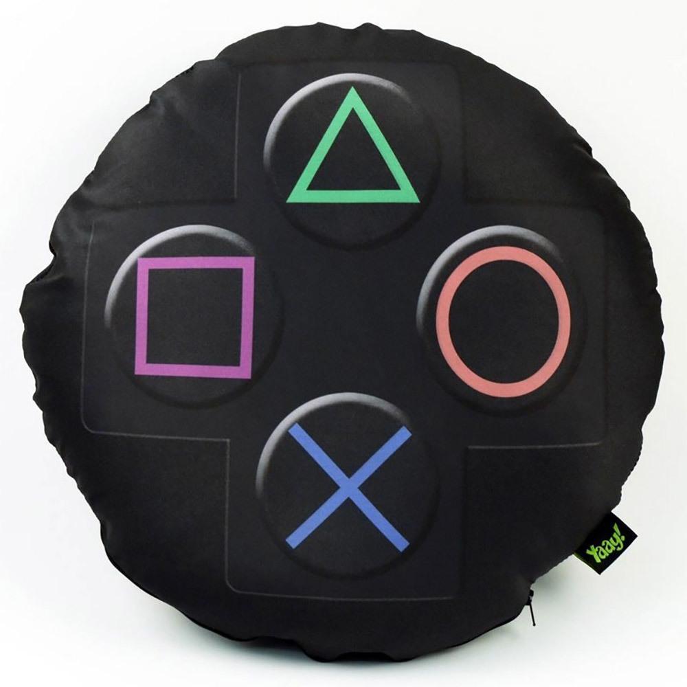 Almofada Gamer Joystick PS3 - 40 x 40 cm