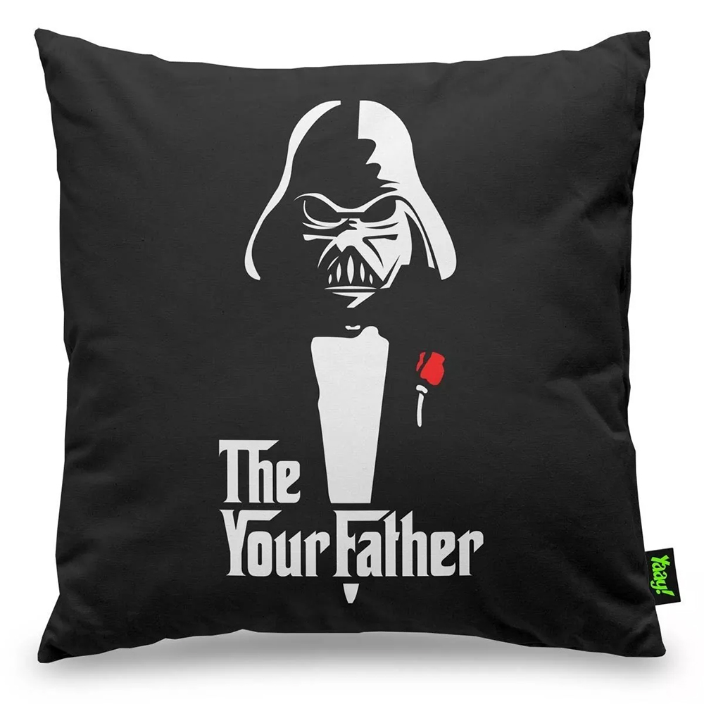 Almofada Geek Side - The Your Father - 40 x 40 cm
