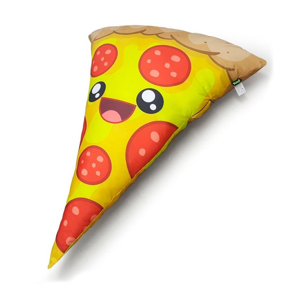 Almofada Gigante Pizza - 80 x 60 cm