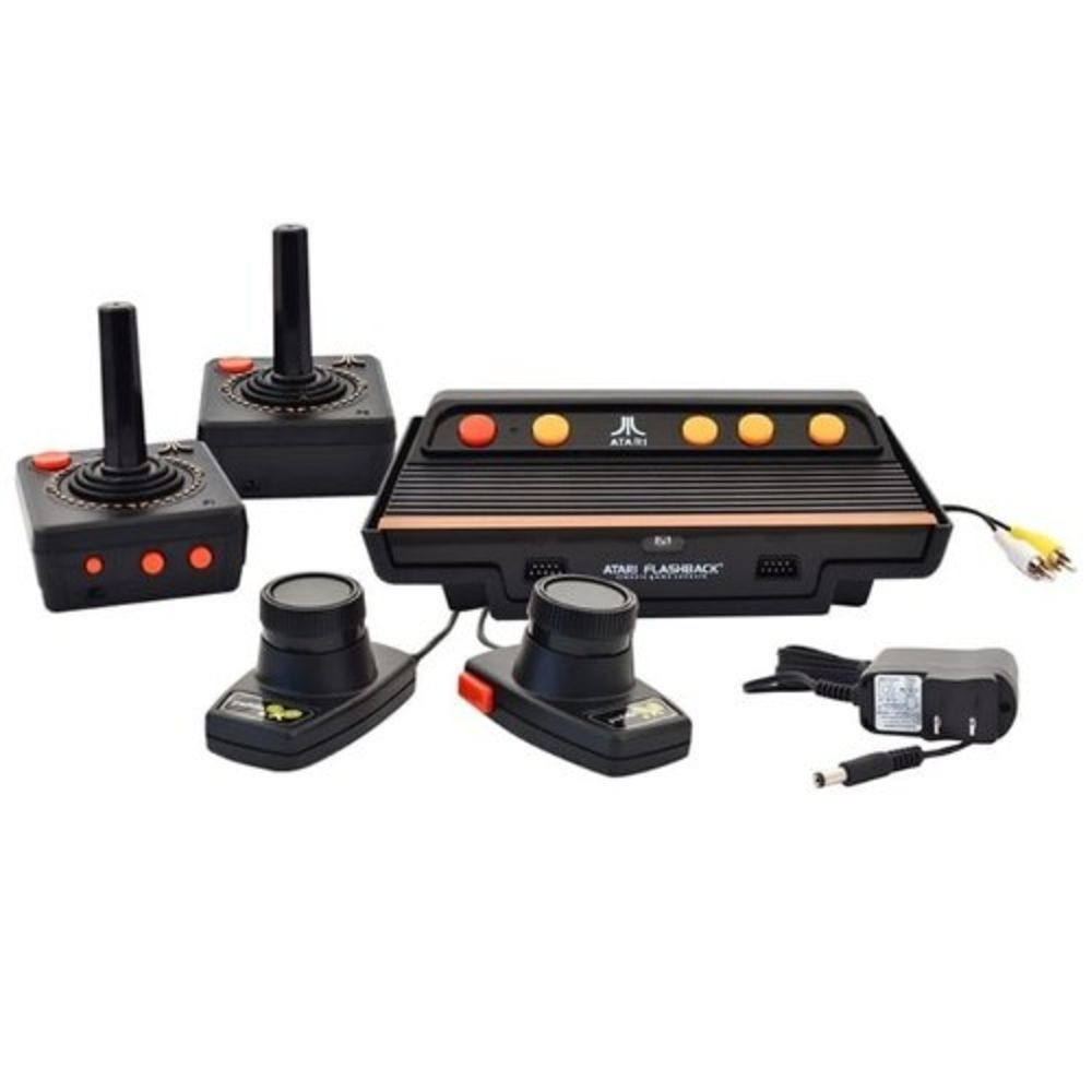Atari Flashback 7 classic game 101 jogos com 4 controles