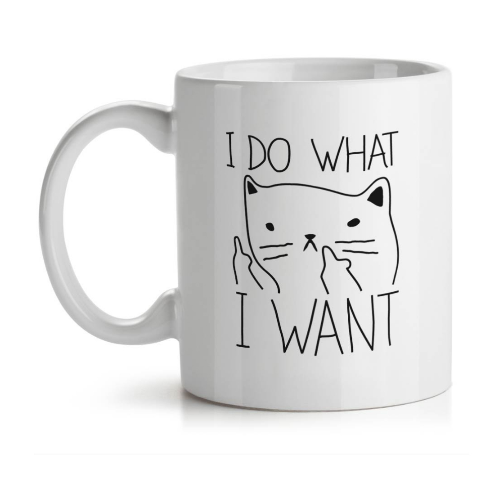 Caneca Gatinho Ranzinza I Do What I Want