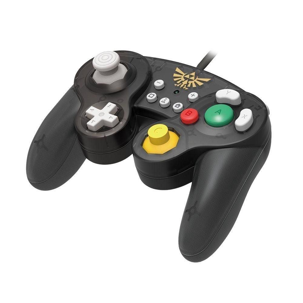 Controle Nintendo Switch com fio Hori Super Smash Bros Zelda