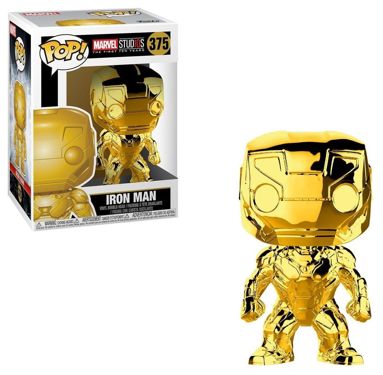 Funko Pop Marvel Chrome Iron Man