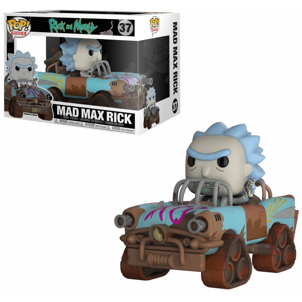 Funko Pop Ride RM Mad Max Rick