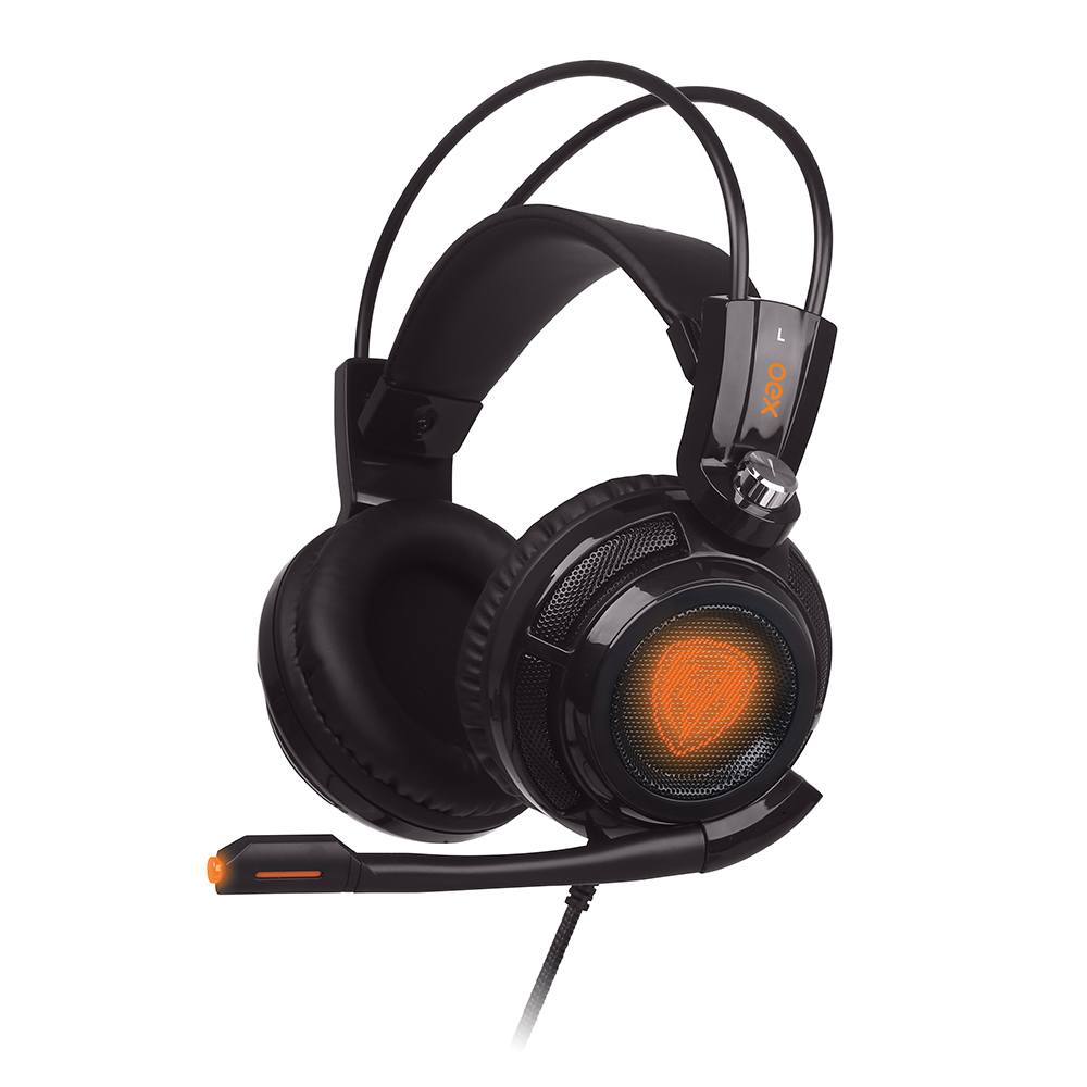 Headset Gamer Extremor Virtual Surround 7.1 Hs400 Preto Oex