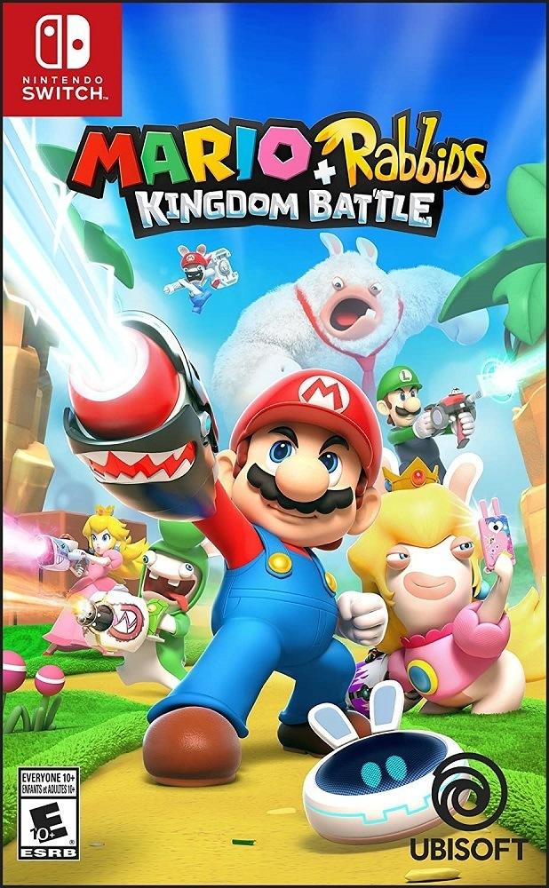 Jogo Nintendo Mario Rabbids Kingdom Battle