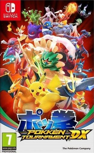 Jogo Nintendo Pokkén Tournament Dx wwe 2k18