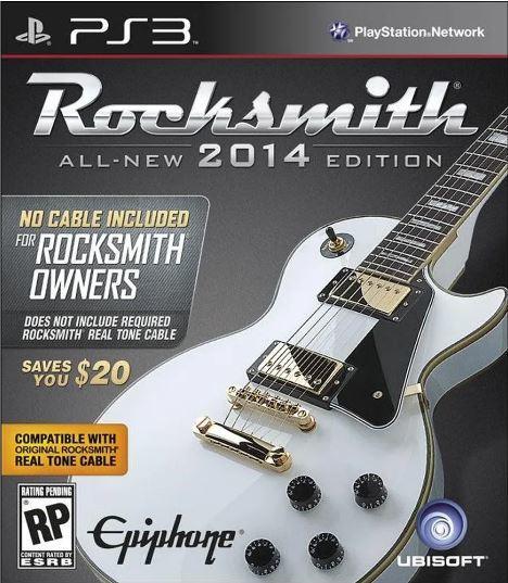 Jogo PS3 Usado Rocksmith 2014 `No Cable