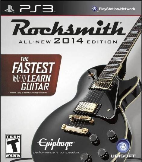 Jogo PS3 Usado Rocksmith 2014