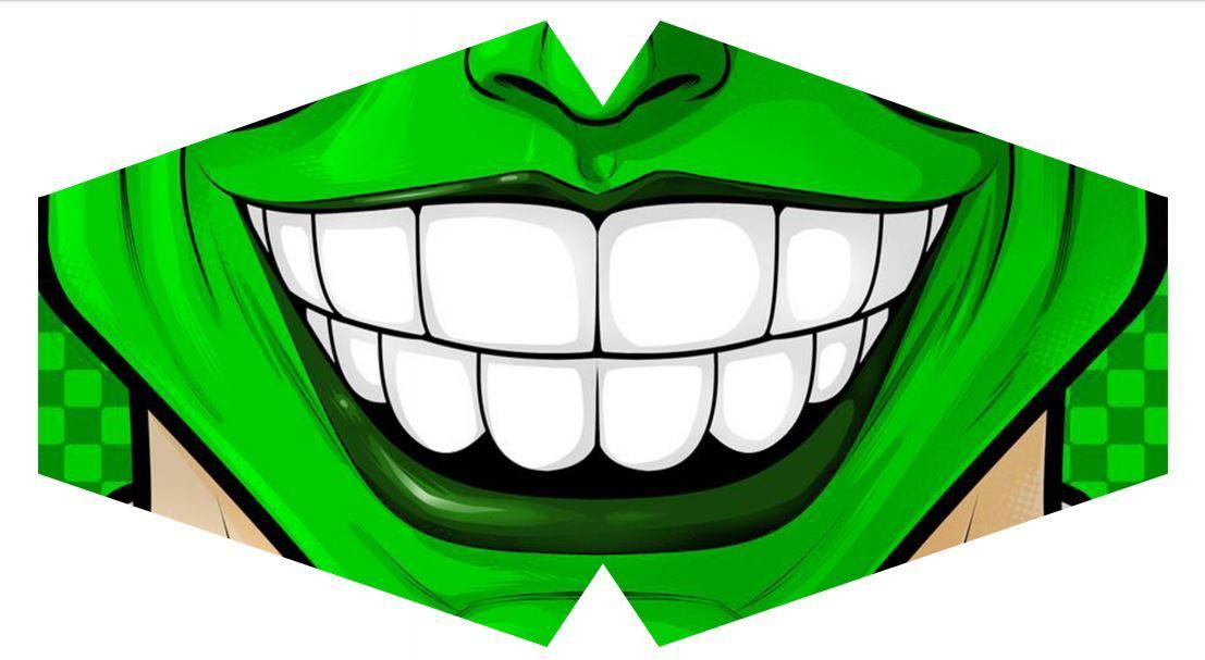 Máscara Eu Sou o Máscara  M-07 - Tamanho G