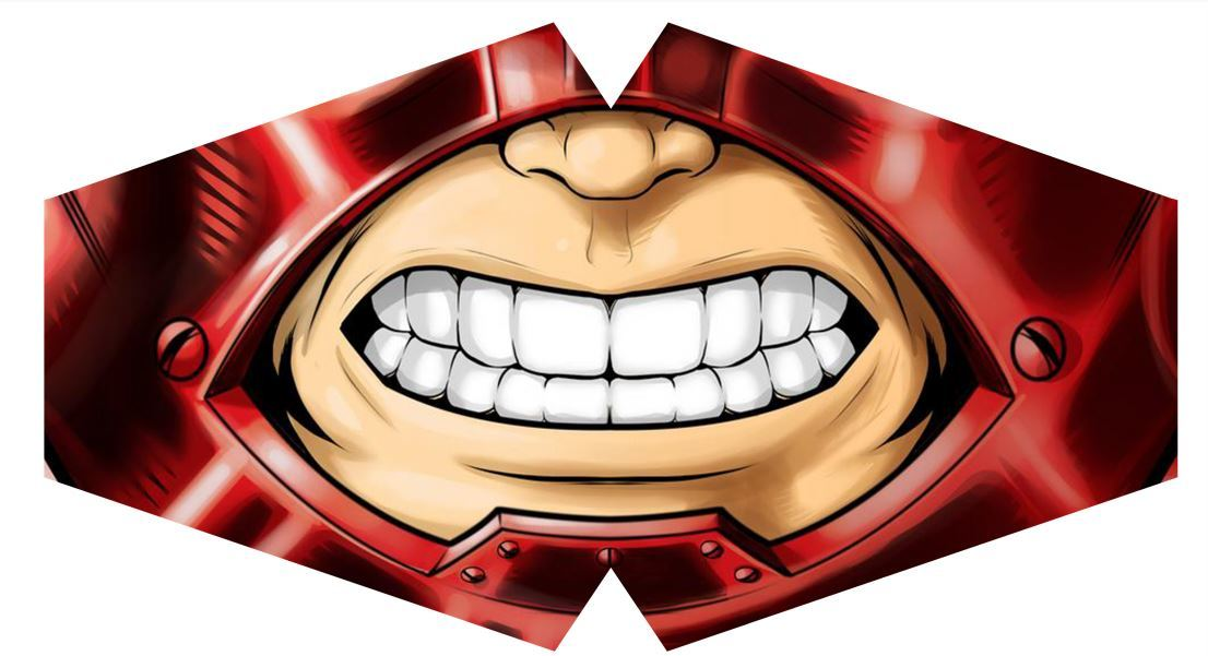 Máscara Juggernaut M-02 - Tamanho G