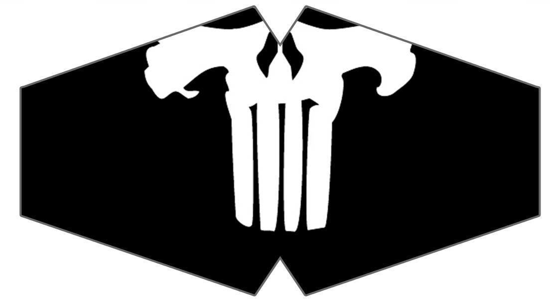 Máscara Punisher M-03 - Tamanho G