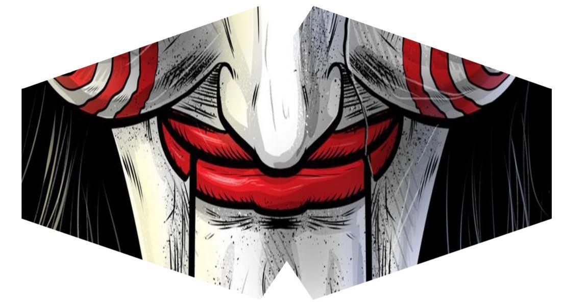 Máscara Tokyo Jogos Mortais  - Tamanho M