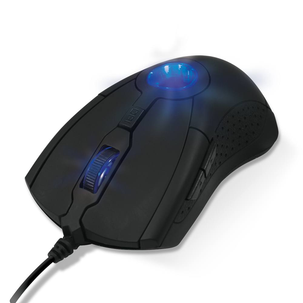 Mouse Gamer Optico Energy Ms301 Preto Design Ergonômico Oex
