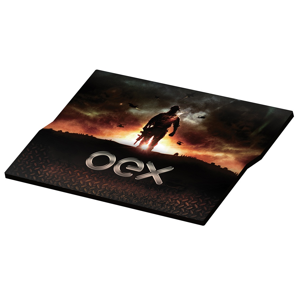 Mousepad Action Gamer  Mp300 Preto 28,7 X 24,4cm Oex